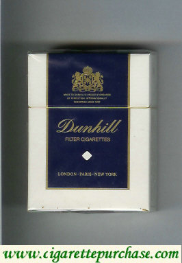 Discount Dunhill Filter Cigarettes Short cigarettes hard box