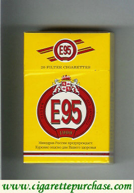 E95 cigarettes hard box