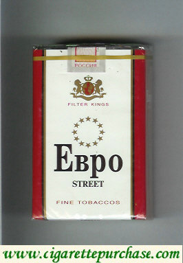EBPO T Street white and red cigarettes soft box