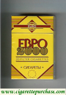 EBPO 2000 T 20 Filter cigarettes hard box