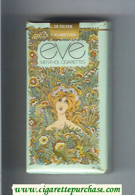 Discount EVE Menthol 100s cigarettes soft box