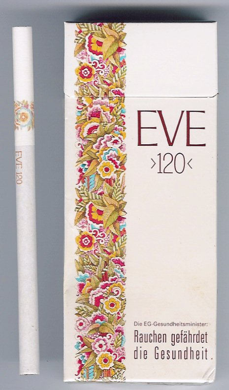 Discount EVE 120s cigarettes hard box