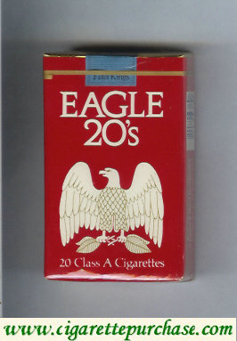 Discount Eagle 20s cigarettes soft box