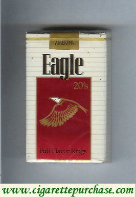 Discount Eagle 20s Full Flavor Kings cigarettes soft box