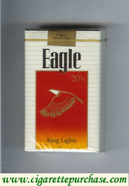 Discount Eagle 20s King Lights cigarettes soft box