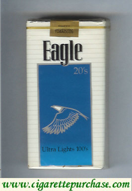 Discount Eagle 20s Ultra Lights 100s cigarettes soft box