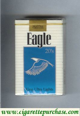 Discount Eagle 20s King Ultra Lights cigarettes soft box