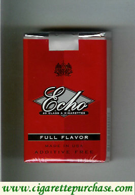 Echo Full Flavor cigarettes soft box
