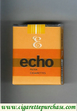 Echo Filter cigarettes soft box