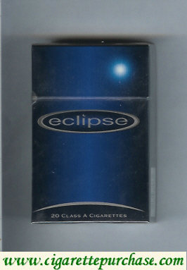Eclipse cigarettes with Moon hard box