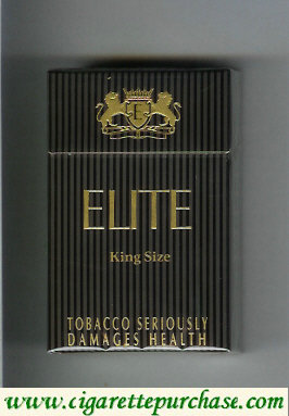 Elite Cigarettes hard box