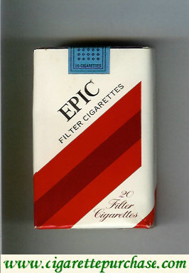 Epic Filter cigarettes soft box