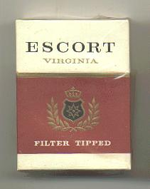 Escort Virginia cigarettes hard box