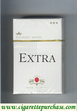 Discount Extra Pleasant Aroma cigarettes hard box