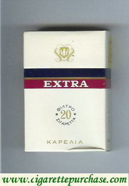 Discount Extra Karelia T Cigarettes hard box