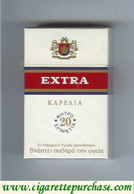 Discount Extra Karelia T 20 Cigarettes hard box