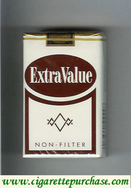 Discount Extra Value Non-Filter cigarettes soft box