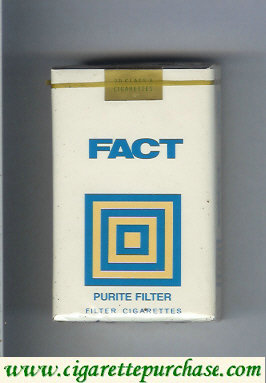 Fact Purite Filter cigarettes soft box