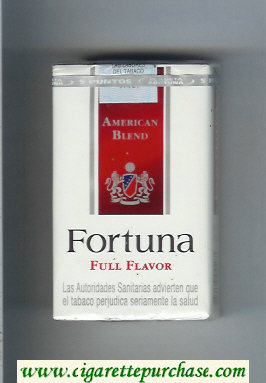 Discount Fortuna American Blend Full Flavor cigarettes soft box