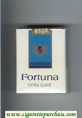 Discount Fortuna Extra Suave cigarettes soft box