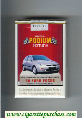 Discount Fortuna Podium 50 Ford Focus cigarettes soft box