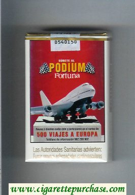 Discount Fortuna Podium 500 Viajes a Europa cigarettes soft box