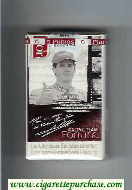 Discount Fortuna Racing Team cigarettes Alex Criville Campeon soft box