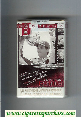 Discount Fortuna Racing Team Alex Criville Campeon cigarettes soft box