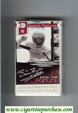 Discount Fortuna Racing Team Alex Criville Campeon soft box cigarettes