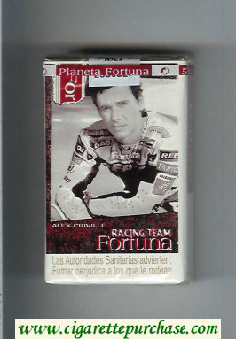 Discount Fortuna Racing Team Alex Criville cigarettes soft box