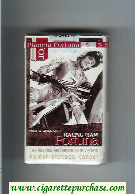 Discount Fortuna Racing Team Mark Colomer cigarettes soft box