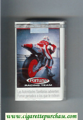 Discount Fortuna Racing Team Full Flavor American Blend soft box cigarettes