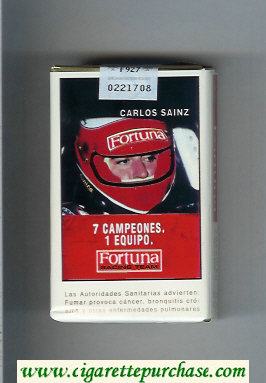 Discount Fortuna Racing Team 7 Campeones. 1 Equipo Carlos Sainz cigarettes soft box