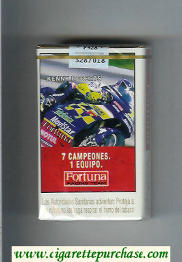 Discount Fortuna Racing Team 7 Campeones. 1 Equipo Kenny Roberts cigarettes soft box