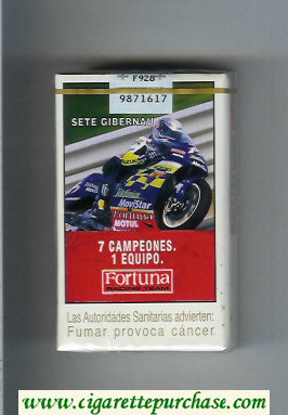 Discount Fortuna Racing Team 7 Campeones. 1 Equipo Sete Gibernau cigarettes soft box