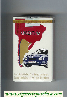 Discount Fortuna. Rally Fortuna Argentina cigarettes soft box