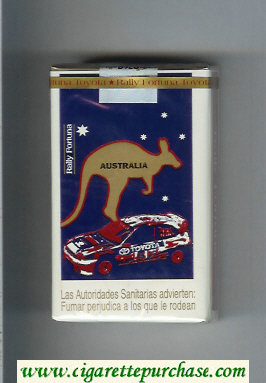Discount Fortuna. Rally Fortuna Australia cigarettes soft box