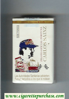 Discount Fortuna. Rally Fortuna Carlos Sainz cigarettes soft box