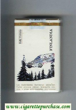 Discount Fortuna. Rally Fortuna Finlandia cigarettes soft box