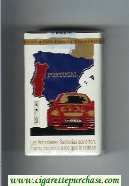 Discount Fortuna. Rally Fortuna Portugal cigarettes soft box
