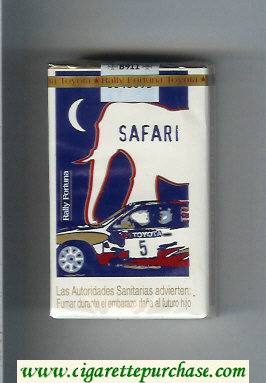 Discount Fortuna. Rally Fortuna Safari cigarettes soft box