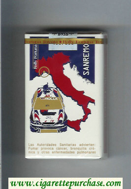 Discount Fortuna. Rally Fortuna Sanremo cigarettes soft box