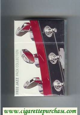Free Cigarettes Jazz Pack Collection design 2000 hard box