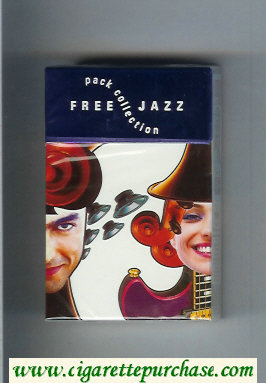 Free Cigarettes Jazz Pack Collection design 2001 hard box