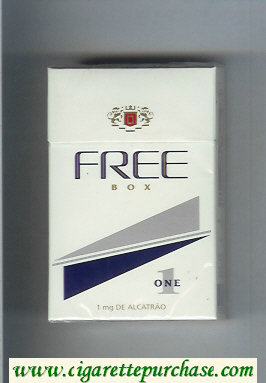 Free Box 1 One Cigarettes hard box