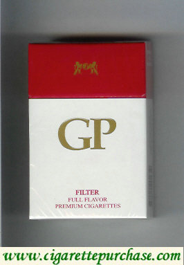 GP Filter Full Flavor premium cigarettes hard box