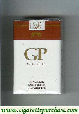 GP Club King Size Non-Filter cigarettes soft box