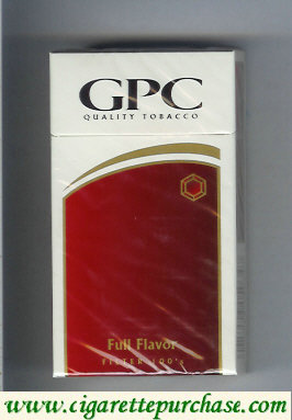 Discount GPC Quality Tabacco Full Flavor Filter 100s Cigarettes hard box