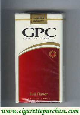 Discount GPC Quality Tabacco Full Flavor Filter 100s Cigarettes soft box