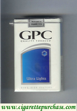 Discount GPC Quality Tabacco Ultra Lights King Size Filters Cigarettes soft box